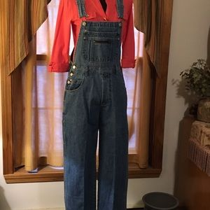 London/London Woman's Overall Jeans
